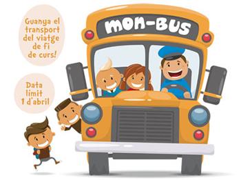 La segona edició del concurs de Mon-Bus és oberta fins a l'1 d'abril