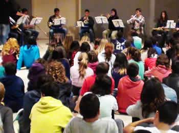 L'Escola homenatja la patrona dels músics amb diversos concerts