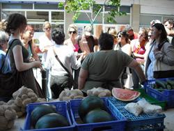 Visita al mercat del centre