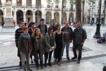 Regidors i regidores dels grups de la CUP, ERC i Som VNG