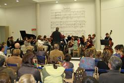 Un dels concerts celebrats a l'Auditori