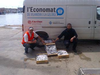 L'Economat ofereix peix fresc als seus usuaris gràcies la Confraria de Pescadors