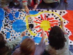 Les activitats infantils son habituals dins la programació de la biblioteca museu