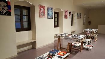 La mostra es pot visitar al tercer pis del Teatre fins dissabte