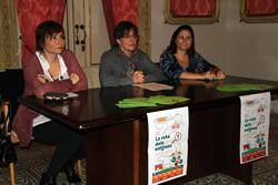 Núria Vall, Marijó Riba i Carme Bravo durant la presentació