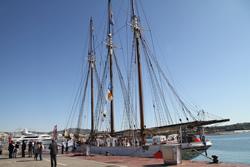 El programa mostra el dia que el pailebot va arribar a Vilanova i la Geltrú