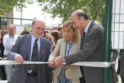 El Bici Park ha estat funcionant en període de prova des del 2 d'abril, i avui s'ha inaugurat