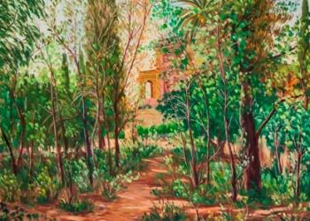 Bosc de la Masia d'en Cabanyes pintat per Jaume Brichfeus