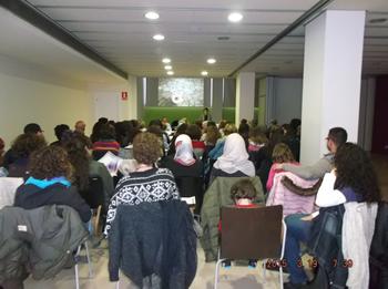 La xerrada es va fer al Centre Cívic la Geltrú