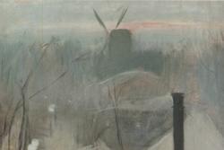 """Montmartre"" de Ramon Casas"