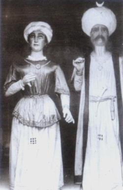 Gegants Grossos de Vilanova i la Geltrú (foto antiga)