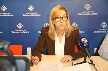 Roda de premsa sobre la memòria de l'OMIC