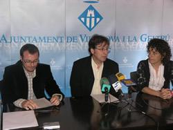 Juan Luis Ruiz, Tomàs Álvaro i Iolanda Sánchez