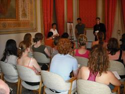 Tomàs Álvaro va donar la benvinguda als participants