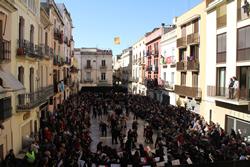 Competències musicals a la plaça de les Cols