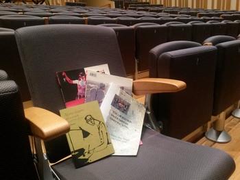 Els llibres troben el seu espai a l'Auditori i al Teatre Principal