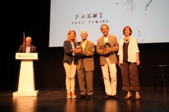Neus Lloveras, Pau Pons, Michel André i Adelaida Moya