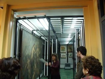 El museu amagat permet veure les peces que no estan exposades al Balaguer