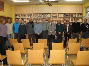 Empreses del sector han signat  els convenis amb l'institut Manuel de Cabanyes