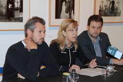 Joan Giribet, Neus Lloveras i Gerard Figueras