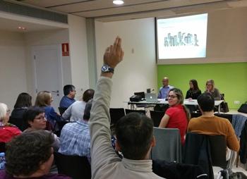 L'acte de presentació es va fer al centre cívic La Geltrú
