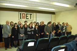 Els participants als projectes de l'IMET i els representants de les empreses