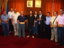 Recepció a una delegació d'UGT d'Astúries