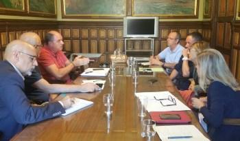 Reunió per millorar la seguretat al pas soterrat de Renfe