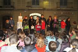Imatge de la celebració del Dia Internacional dels Drets dels Infants de l'any passat