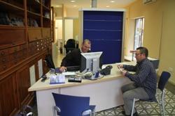 Oficina de l'OMIC a la plaça de la Vila de Vilanova i la Geltrú