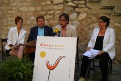 La presentació ha tingut lloc al Castell de la Geltrú