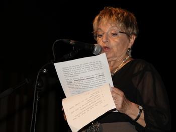 La periodista Montse Lago