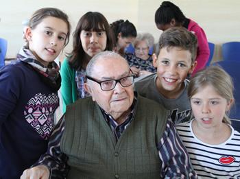 'Escola La Ginesta a la Residència Els Josepets