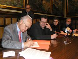 Xavier Cardona, Joan Ignasi Elena, Iolanda Sánchez i Francesc Acín