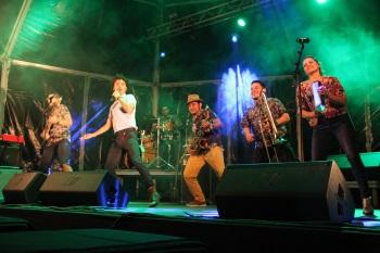 Actuació de Puerto Candelaria a la plaça del Port