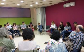 Tallers participatius del pla de xoc que es van fer al mes de març