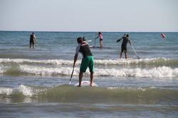 Una de les classes de paddle surf