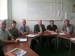 La delegació vilanovina va ser a Merignac la setmana passada