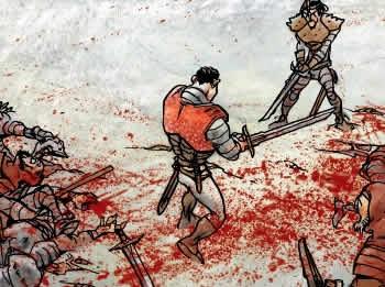Un dels còmics de Macbeth que es pot visitar fins a l'11 de novembre