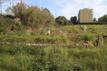 Hi ha moltes restes per descobrir a la parcel·la de titularitat municipal