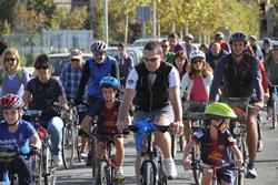 El recorregut de la pedalada és apte per a totes les edats