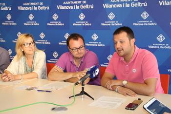 Neus Lloveras, Juan Luís Ruiz i Gerard Figueras