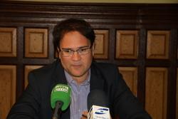 El regidor d'Hisenda, Recursos Humans i Règim Intern, Miquel Àngel Gargallo