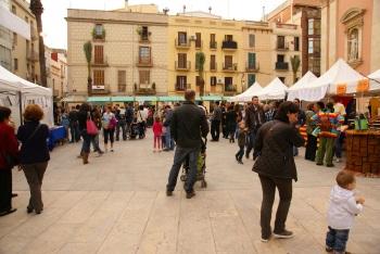 La Mostra d'entitats de cooperació de l'any 2010