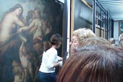 La visita permet veure el gruix del fons museístic