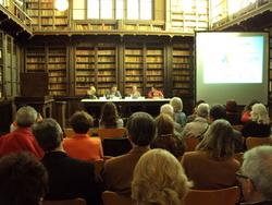 El llibre es va presentar a la biblioteca del Museu Balaguer davant una quarantena de persones