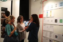 Els autors dels projectes els han explicat en l'acte d'inauguració