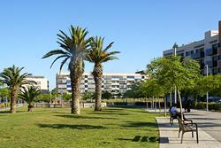 CESPA és una de les dues empreses que té cura del manteniment i la neteja dels jardins públics de la ciutat