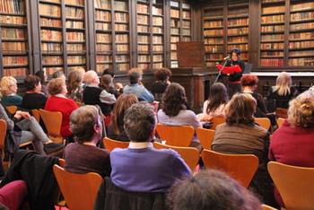 L'acte es va celebrar a la Biblioteca Museu Víctor Balaguer
