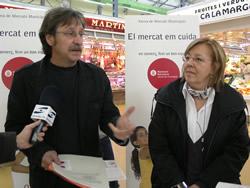 Tomàs Álvaro ha presentat aquest migdia la nova campanya dels mercats
